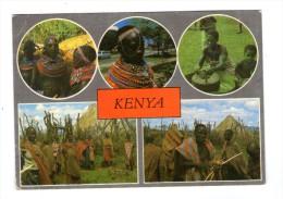 Cp , KENYA , Multi-vues , Voyagée , Ed : East Africa , 1378 , Frank Ltd - Kenya