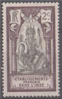 Inde Française - N°YT 26 Neuf *. - India (1892-1954)