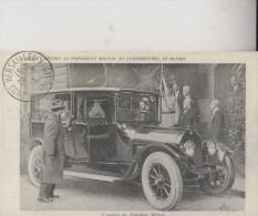 Cp N° 8761 - Neuve - Europe - Luxembourg - Repro - Arrivee Du President Wilson - Cartes Postales