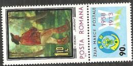 Romania 1973 Nuovo** - Mi.3149Zf  Yv.2815 - 1948-.... Republics