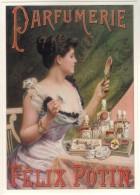 CPM - L´AVION  POSTAL - A 300 - PARFUMERIE FELIX POTIN - Advertising