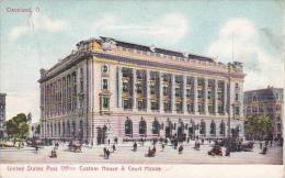 Ohio Cleveland United States Post Office Custom House &amp  Court House