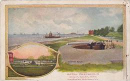 Virginia Canaden Hotel Chamberlin Fortress Monroe 1908