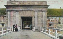 Virginia Fortress Monroe Main Entrance