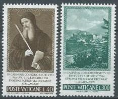 1965 VATICANO S. BENEDETTO MNH ** - ED - Vatican
