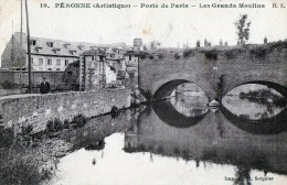 [80] Somme> Peronne Porte De Paris Les Grands Moulins - Peronne