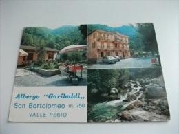 ALBERGO HOTEL  GARIBALDI SAN BARTOLOMEO VALLE PESIO  PESCATORE