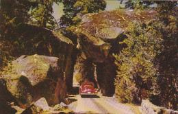 Arch Rock At Park Boundary Yosemite National Park