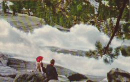 Waterwheel Falls On The Tuolumne River Yosemite National Park