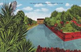 The Moat Fort Pulaski Savannah Georgia