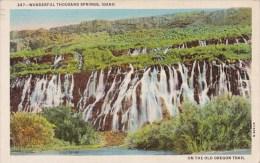 On The Old Oregon Trail Wonderful Thousand Springs Idaho 1944