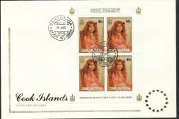 Cook-Inseln    Mi.Nr   1063 -1066  4 Klbg. Ersttagstempel - - Cookinseln