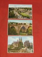 LUXEMBOURG -   Lot De 5 Cartes  ( Voir Détails )  -   (4 Scans) - Luxembourg - Ville