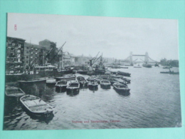 LONDON - Thames And Towerbridge - River Thames