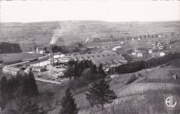 CPSM (01) LAGNIEU Vue Sur La Verrerie Dentelée 9 X 14 - Autres Communes