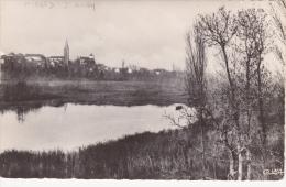 CPSM (38) HIERES Sur AMBY Le Lac Dentelée 9 X 14 - France