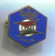 ARCHERY / SHOOTING - FITAV, Italian Shooting Federation Flight, Olympic, Olimpiade, Enamel, Pin, Badge - Archery