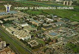 Croatia,The Zagreb Fair,UNUSED - Foires