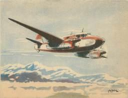"""CPM - CAUDRON - """"Goéland"""" (Transport Et Liaisons Rapides) - 1939-1945: 2ème Guerre"""