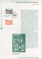 FRANCIA - France - 2000 - DOCUMENT OFFICIEL - Saint-Guilhem-le-Désert - Hérault - FDC - FDC