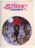 Autocollant Stiker's  Live Undead  Sous Blister Agrafe Sur Support Seulement  BE - Stickers