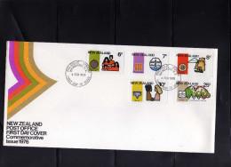 NEW ZEALAND NUOVA ZELANDA 1976 COMMEMORATIVE COMMEMORATIVI  FDC FIRST DAY COVER - FDC