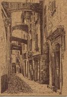 La Corse : Bonifacio - Vieille Rue - Peinture Sur Liège Inaltérable (ed Rayar - Frankrijk