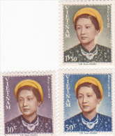 Vietnam 1952 Empress Nam Phuong Set Mint Never Hinged - Vietnam