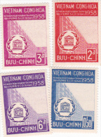 Vietnam 1958 UNESCO Set Mint Never Hinged - Vietnam