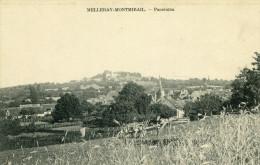 MELLERAY ET MONTMIRAIL - Panorama Ouvriers Agricoles Au Travail La Remorque - Autres Communes