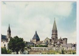 LE DORAT - LA COLLEGIALE - MONUMENT A DEUX CLOCHERS - CARTE NON VOYAGEE - Ed. THEOJAC - Le Dorat