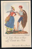 Les Vieilles Provinces De France -- 10 Cartes -Nice - Saintonge --etc - Pubblicitari