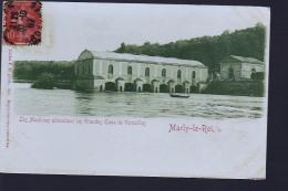 MARLY LE ROI MACHINES  EN 1907 TIRAGE DE 1898 - Marly Le Roi