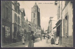 BATZ . La Rue De La Mairie . - Batz-sur-Mer (Bourg De B.)