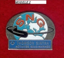 @@ Marine Nationale Sous Marin SNG Thomson Sintra Activités Sous Marines (3.3x2.5) @@ma64 - Militair & Leger