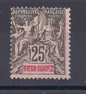 DIEGO-SUAREZ -  N° 45 Neuf * - C: 14,00 € - Diégo-Suarez (1890-1898)