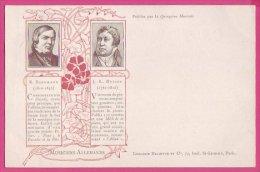 PC10168 UB Composers Robert Schumann And Jan Ladislav Dussek. - Music And Musicians