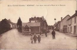 CPA RARE SORNAC LES DEUC RUES ET LA PLACE DE LA BASCULE CPA NO 23 ANIMEE ENFANT - Other Municipalities