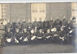 23910 Regiment 2em E;d. T ? Amiens France 1937 Aller à La Soupe - Soldat Troupe  Carte Photo