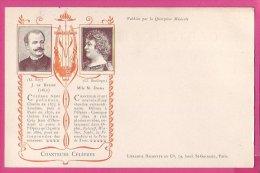 PC10182 UB Polish Tenor Jean De Rezske And The French Contralto Marie Delna - Music And Musicians