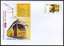 Duitsland - Autobus - Post - Busses