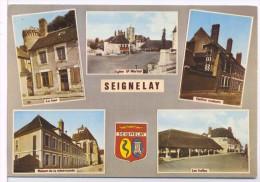 Seignelay Eglise Tour Halle Maison - Seignelay