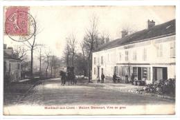 CPA 02 Montreuil Aux Lions Maison Stevenart Vins En Gros - Other Municipalities