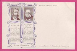 PC10187 UB Composers And Conductors Paul Taffanel And François Habeneck. - Música Y Músicos