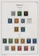 COLLECTION FRANCE CLASSIQUES 1849/1900 OBLIT. B/TB  COTE + 7500 �