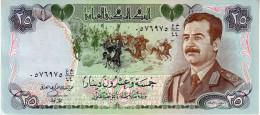 Iraq p.73 25  dinars 1986  unc