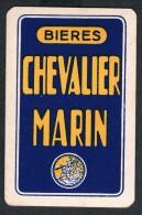 Dos de carte � jouer ancien Bi�res Chevalier Marin - Beer-Brewery Playing card Single card