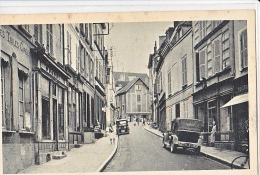23943 TONNERRE 89 France  : Rue Saint-Pierre. Vieille Voiture 275 Z99 Commerce -coll Lib Alix Cim
