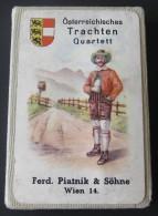 Vintage Ferd. Piatnik & Söhne # 282, Österreichisches Trachten Quartett - Complet 36 Cartes - Jeux De Société