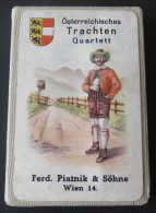 Vintage Ferd. Piatnik & Söhne # 282, Österreichisches Trachten Quartett - Complet 36 Cartes - Non Classés